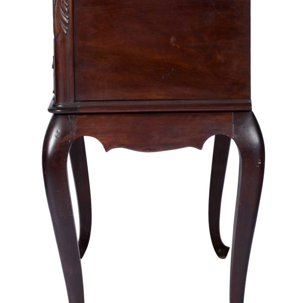 Antique Walnut Buffet Sideboard Server Console Cabinet Four Drawer