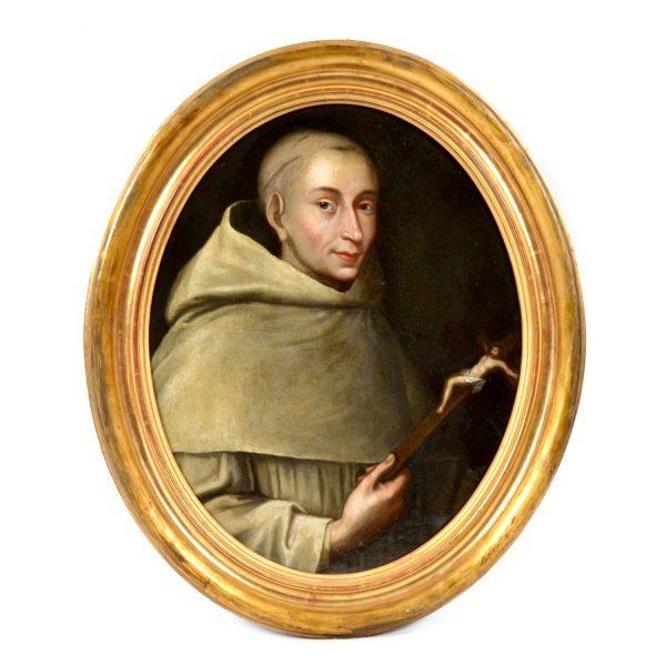 Armand Jean le Bouthillier de Rancé ?. Portrait. European School. 17th/18th Century Oil Painting on Canvas