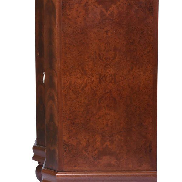 Art Deco Sideboard / Buffet Walnut and Amboyna Wood, Marble Top, France C.A. 1920's