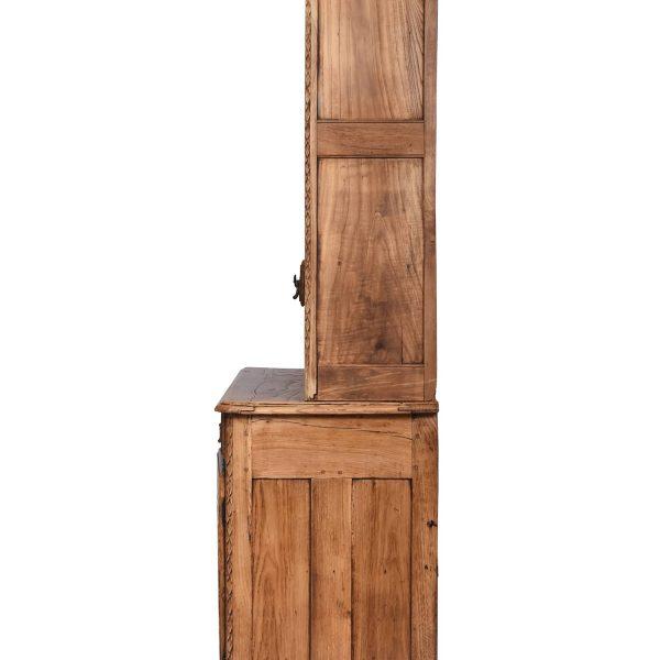 Gothic Revival Oak Hutch /Cupboard, France, 18/19th century