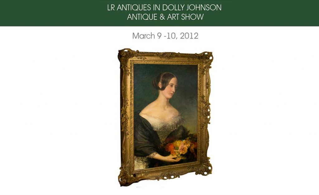 LR ANTIQUES IN Dolly Johnson Antique & Art Show