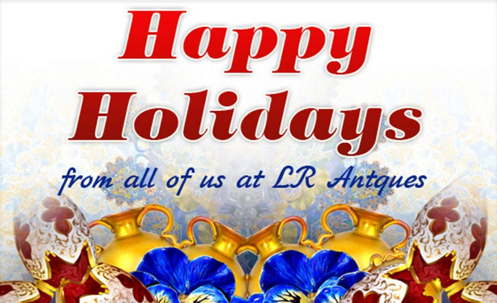 Happy Holidays from LR Antiques